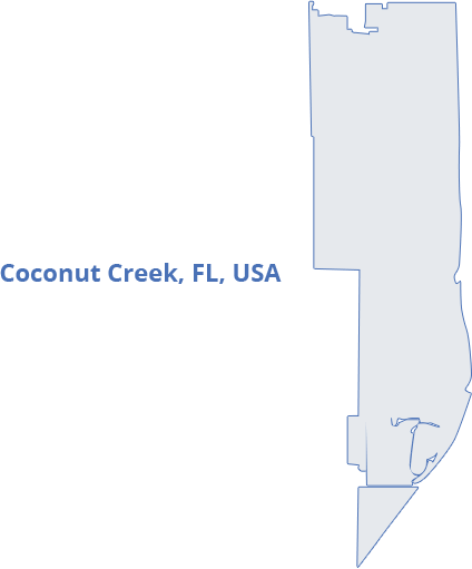 map-coconut-creek-fl-usa