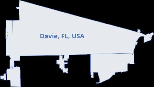 map-davie-fl-usa