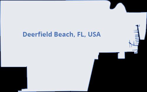 map-deerfield-beach-fl-usa