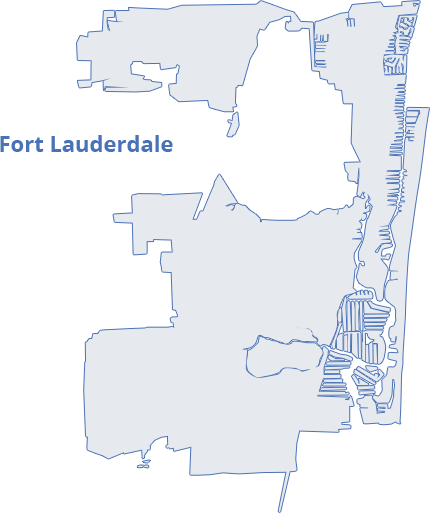 map-fort-lauderdale