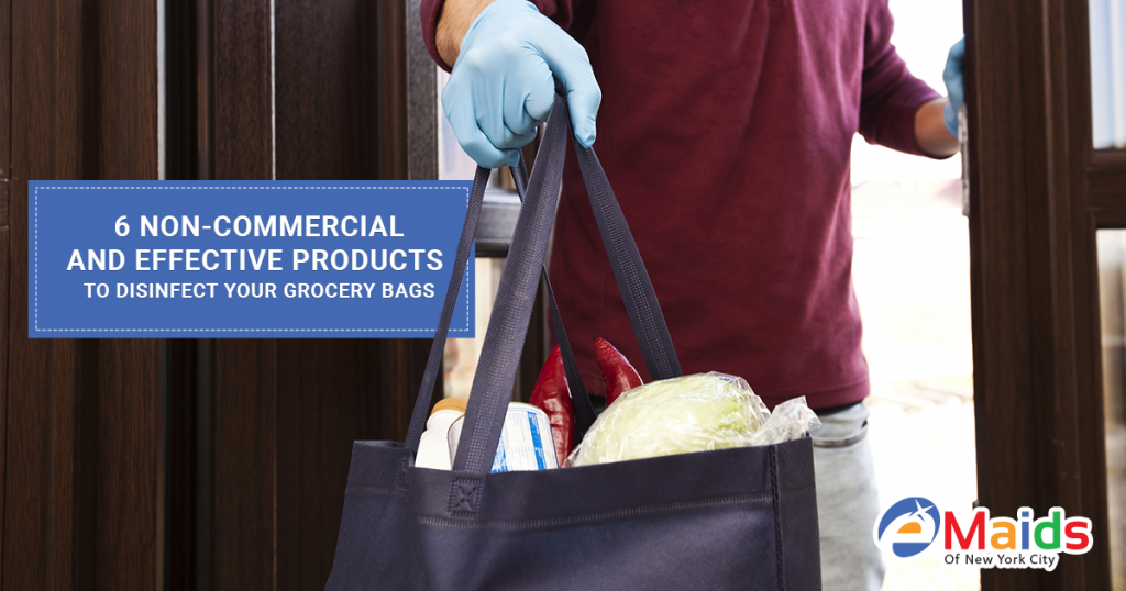 6 Non-commercial And Effective Products To Disinfect Your Grocery Bags