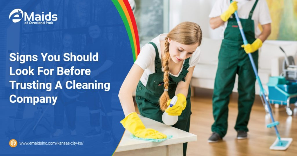 Trusting A Cleaning Company