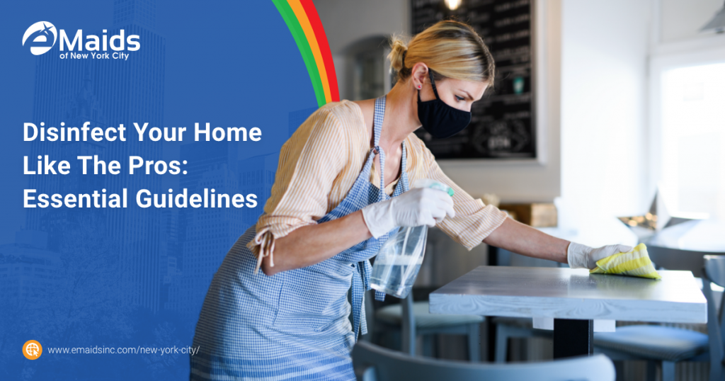 eMaids of NYC Disinfect Your Home Like The Pros Essential Guidelines