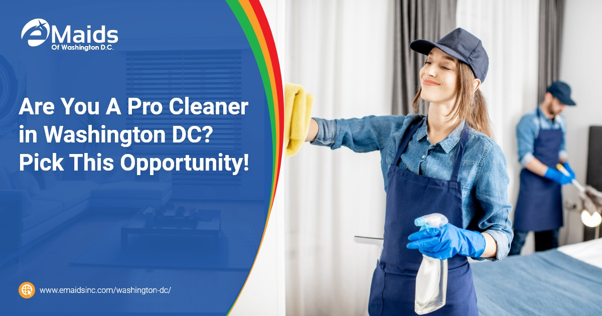 eMaids of Washington DC - Are You A Pro Cleaner in Washington DC Pick This Opportunity!
